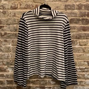 Madewell Long Sleeve Striped Top